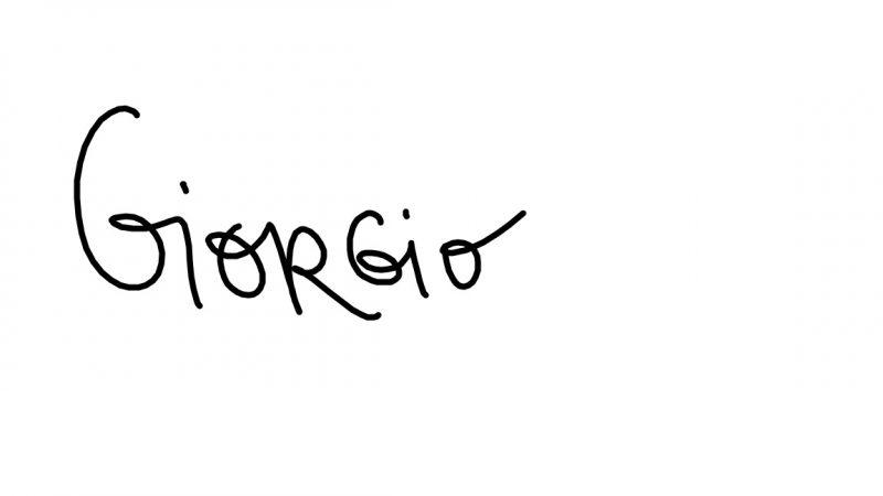 Giorgio first name e1588352308317